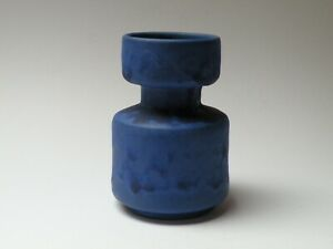 FAT-LAVA-HOY-KERAMIK-Keramikvase-70er-Jahre-WGP-14cm