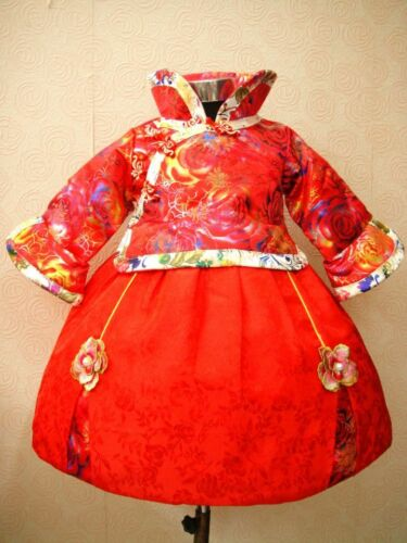 Chinese New year costume Princesses high quality girls Dresses