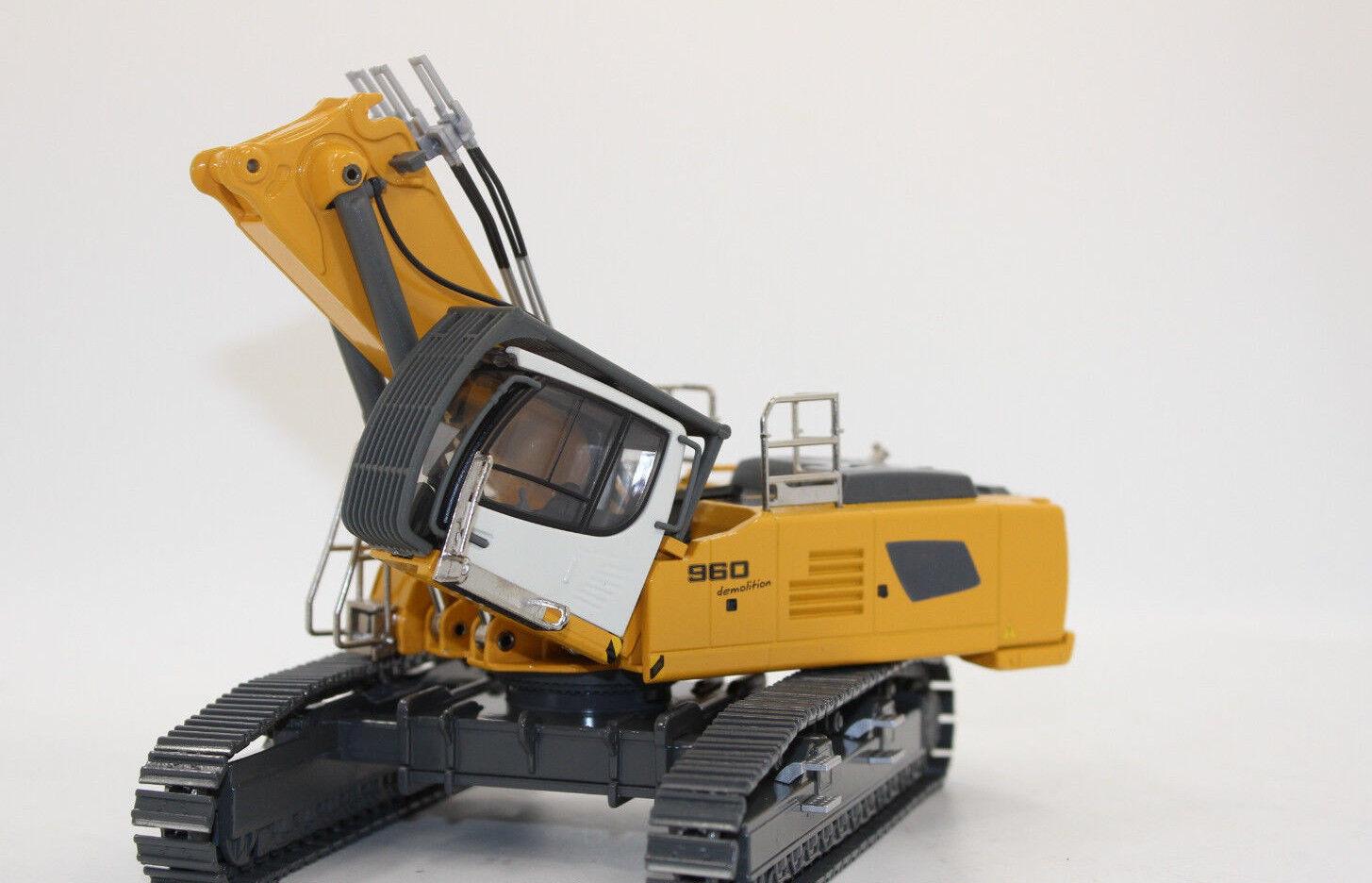 Conrad 2205 Liebherr Crawler Excavator R 960 Demoliton 1 50 New Boxed
