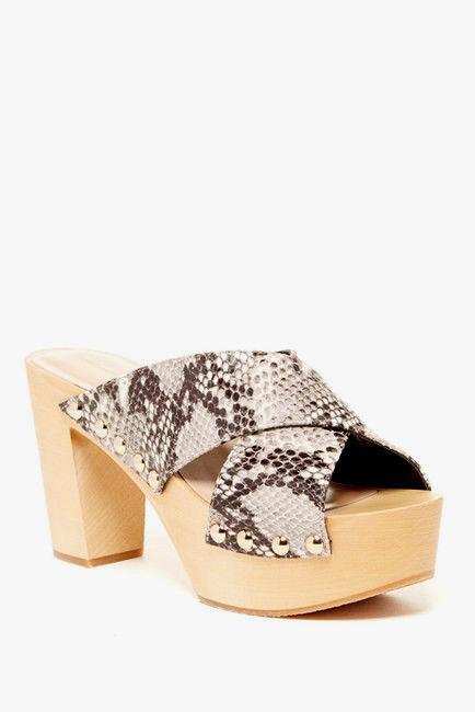 Diane von Furstenberg () Seville Platform Sandal 9 NIB  298