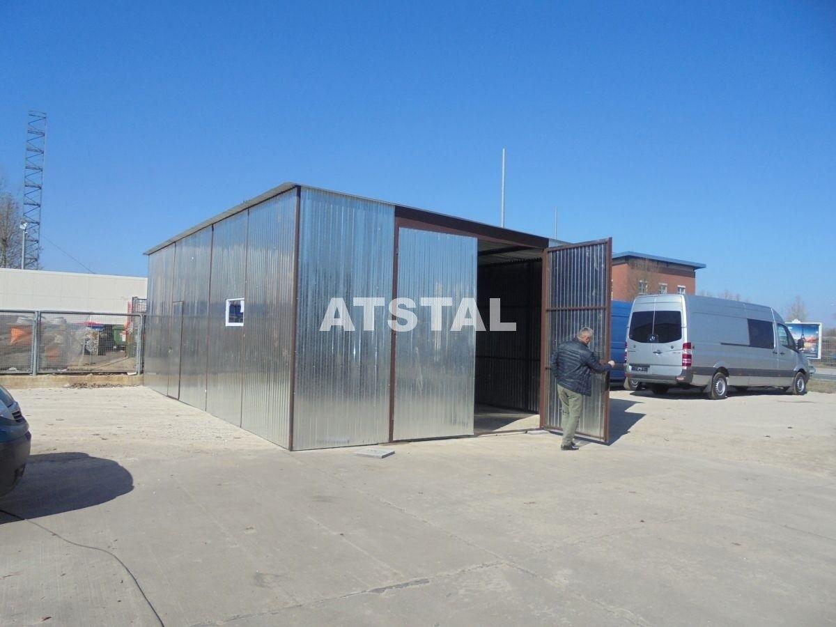 Halle Blechhalle Blechgarage 6x10x3 verzinkt Garage KFZ Lager mit Aufbau NEU