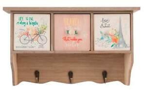 APPENDINO con cassetti a muro in legno per cucina con frontali in ...
