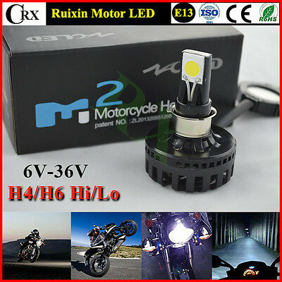 2015 New H4 Motorcycle LED Headlight Bulb Kit 15W 1650lm 12V COB Hi/Lo Headlight