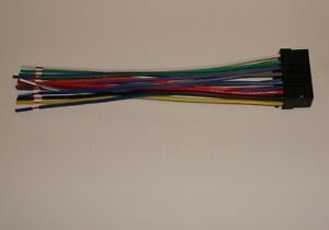 image is loading sony-am-fm-cd-wire-harness-cdx-gt10m-