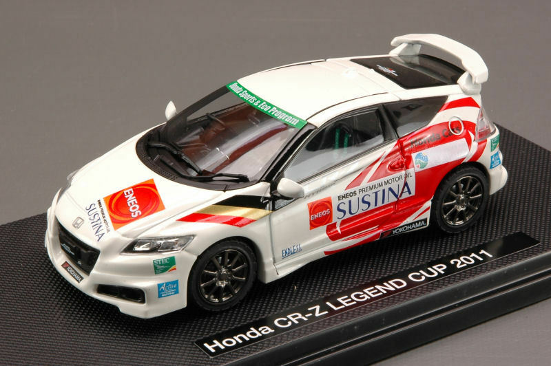Honda CR-Z Legend Cup 2011 blanc (Decals For N.3 15 32 37) 1 43 44692 EBBRO