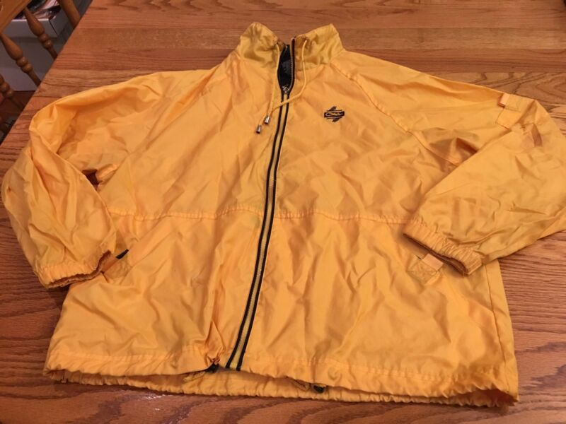 Special Section Catalina Women's Size Large (14/16) Yellow Lightweight Jacket Windbreaker Promote The Production Of Body Fluid And Saliva