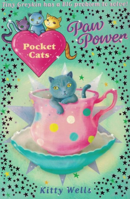 CHILDREN'S 'POCKET CATS' READING STORY BOOK: PAW POWER