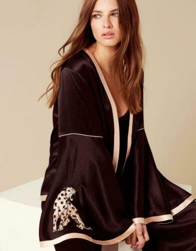 Selene Panther Pyjama Set various sizes Agent Provocateur black BNWT