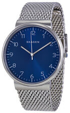 Skagen SKW6164 Ancher Blue Dial Stainless Steel Mesh Men's Watch