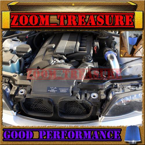 BLUE 1999-2005//99-05 BMW 320 320i//323i 323 i is Ci E46 COLD AIR INTAKE KIT