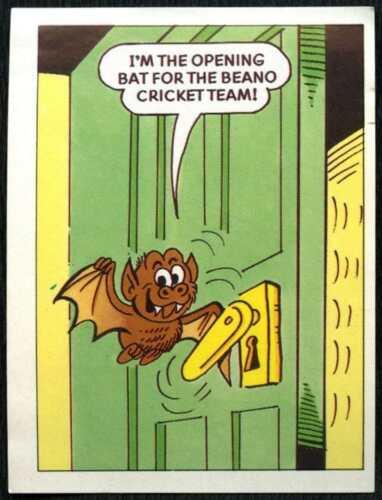 The Magic Of The Beano #63 Merlin 1989 Sticker C846