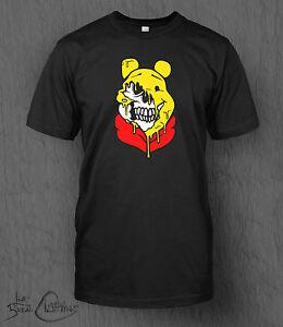 e79267d79a40 Winnie The Pooh T-Shirt Melting Pooh Bear MEN S Frozen