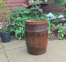 SUPER NICE LARGE BARREL WITH RARE BUTTON HOLE BANDS