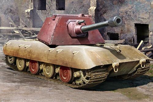 E-100 Heavy Tank Krupp Turret 1:35 Model TRUMPETER