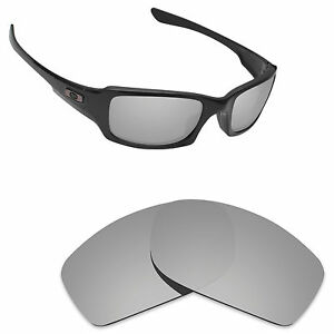 1f5cd75dc1 Image is loading Newest-Replacement-Lenses-for-Oakley-Fives-Squared-Silver-