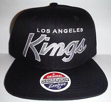 huge discount b091b bd50c item 5 Los Angeles LA Kings Authentic Black Script Snapback NWT Hat Zephyr  Cap -Los Angeles LA Kings Authentic Black Script Snapback NWT Hat Zephyr Cap