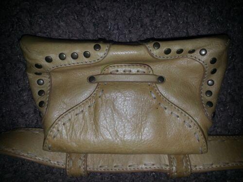 en cousu de la ceinture excellent cuir main Sac lancer stylin' fannybum avec naturel à Rc35LqS4jA