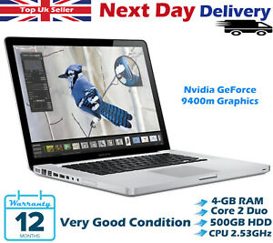 Apple-MacBook-Pro-13-3-034-Intel-Core-2-Duo-2-53GHz-4GB-Ram-500GB-HDD-el-capitan
