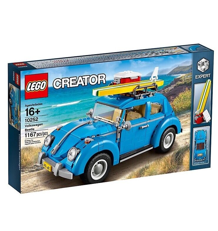 LEGO 10252 Creator Volkswagen Beetle - Brand New Sealed