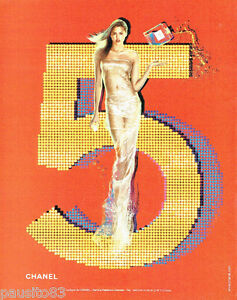 PUBLICITE ADVERTISING 125  2002  CHANEL  parfum n°5