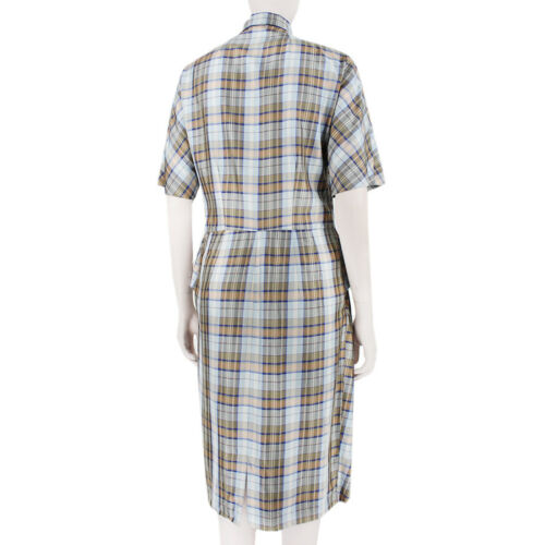 Light Van Uk10 Dries Dress Pink Tartan Fr38 Pale Blue Noten HIUxqOUF