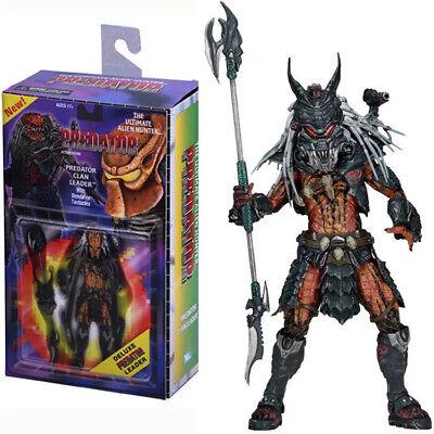 "NECA Predator Clan Leader Alien Hunter 7/"" Action Figure Ultimate Deluxe Collect"