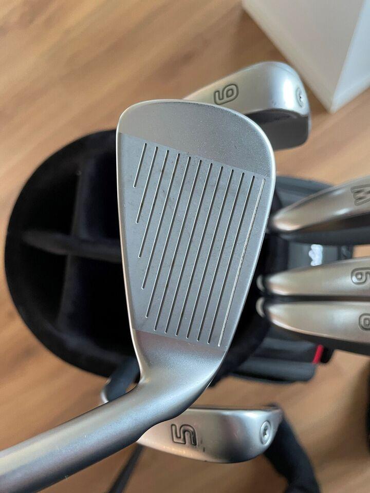Stål golfjern, venstrehånds