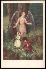 "santino-holy card""""ediz. NB serie 15  n.12 ANGELO CUSTODE"