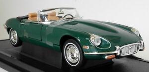 Road-Signature-1-18-Scale-1971-Jaguar-E-Type-Roadster-V12-Grn-Diecast-Model-Car