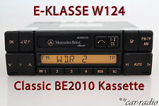Mercedes Original Autoradio W124 E-Klasse C124 Classic BE2010 Kassettenradio CC