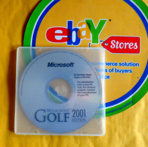 Details about Microsoft Golf 2001 EDITION (PC,2000)PC GAME XP/VISTA/WINDOWS  7/8 1/10 Brand New