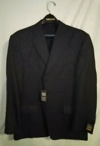 Haggar-Comfort-Equipped-Sport-Coat-Men-039-s-42L-Polyester-Blend-NWT-SRP-175