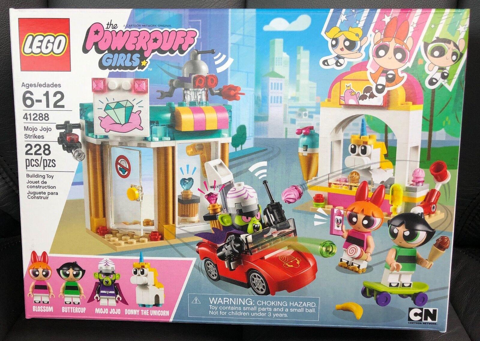 Lego The Powerpuff Girls - MOJO MOJO MOJO JOJO STRIKES - 41288 - Sealed and New 683598