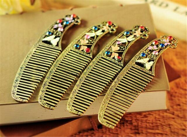 Comb Hair Beautiful Vintage Exquisite Butterfly Comb Dragonfly Comb Hair Tool M&