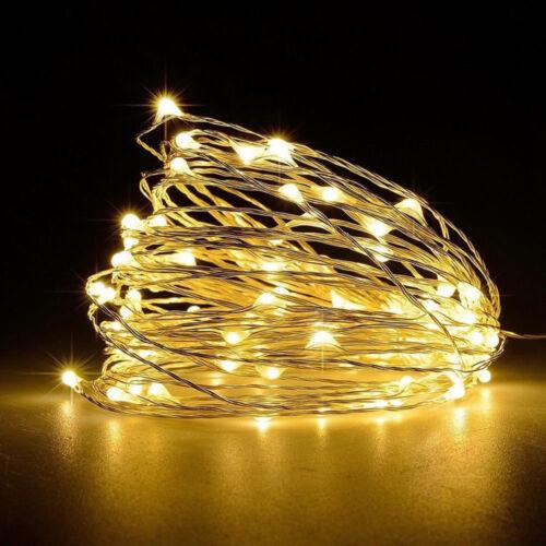 5M 10M USB Led String light Fairy 5V Christmas lamp Copper Wire Wedding Lights