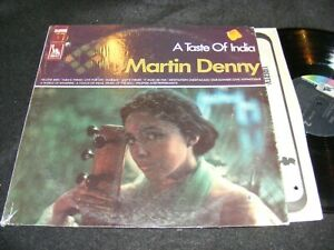 Hard-To-Find-RAGA-Exotica-LP-A-TASTE-OF-INDIA-Martin-Denny-LIBERTY-1960s-Stereo
