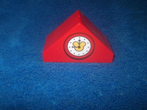 Lego Duplo Disney Mickey Schloß Puppenhaus Dach Dachteil Uhr 10889 NEU