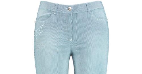 Leichte Neu Damen Samoon Mit Streifen By Jeans 7 8 Betty 52 Gerry Weber Hose Gr RdwS1qd