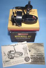 NRMT VINTAGE BOXED GARCIA MITCHELL 402 SALT WATER HIGH SPEED FISHING REEL BOOKS