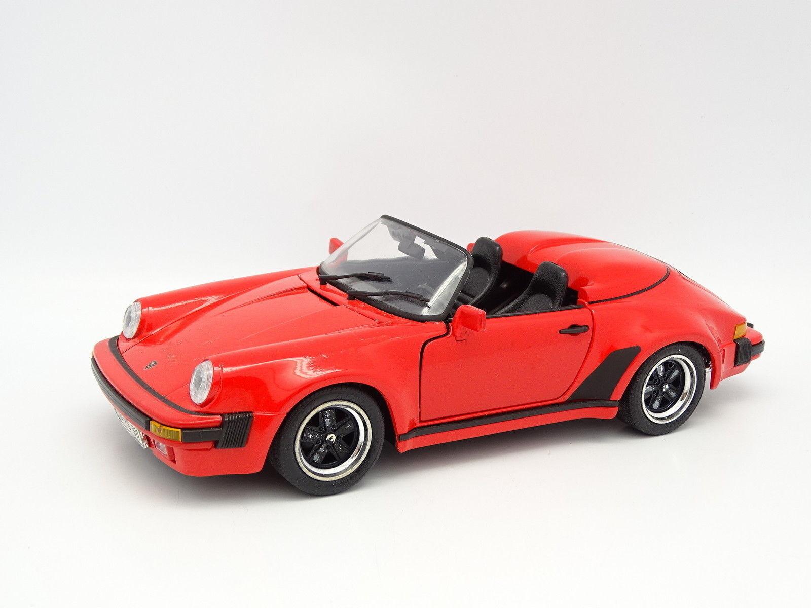 Maisto SB 1 18 - Porsche 911 Speedster 1989 red