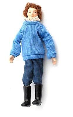 Bambola All'aperto, Casa Delle Bambole Bambola In Miniatura, Scala 1.12-mostra Il Titolo Originale