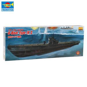 Trumpeter 80915 1/200 Tedesca U-Boat Tipo Ix C U-511 Sottomarino Elettrico