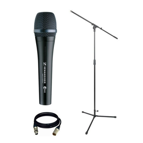 NEW Sennheiser e 945 Dynamic Microphone Bundle