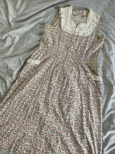 1930's Cotton Feedsack Dress