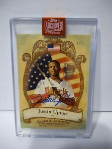 2019-Topps-Archives-Signature-Series-Justin-Upton-1-1-Auto