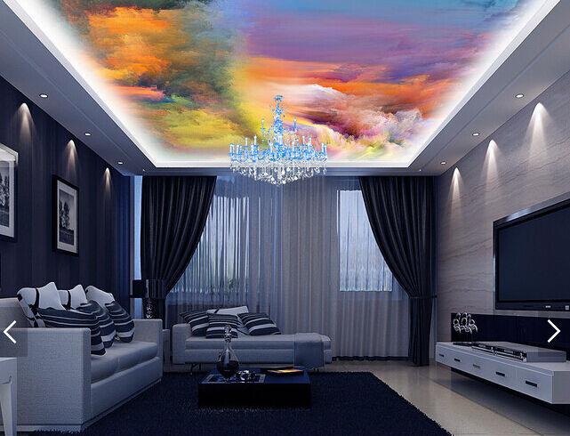 3D Ändern der Farbe Wolke 6 Fototapeten Wandbild Fototapete BildTapete FamilieDE