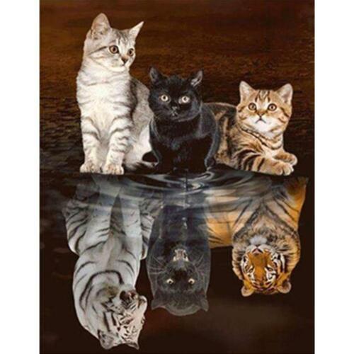 5D DIY Full Drill Diamond Painting Animals Cross Stitch Embroidery Mosaic Kits