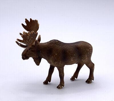 2002 Schleich Germany Bull Moose Toy Figurine Ebay