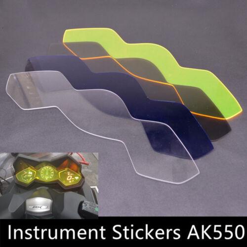 Motorbike Instrument Dashboard Speedo Screen Protector For KYMCO AK550 2017-2018