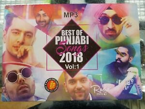 Details about DJ PUNJABI Songs COLLECTION - Best of 2018 -OVER 100 songs -  MP3 DISC -FREE POST